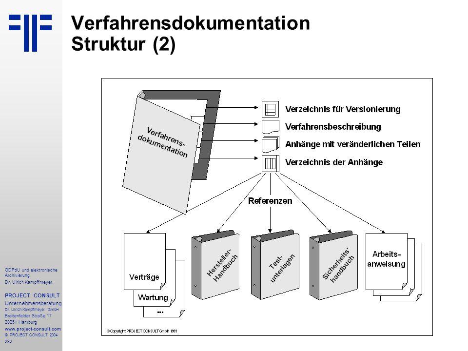 Verfahrensdokumentation Struktur (2)
