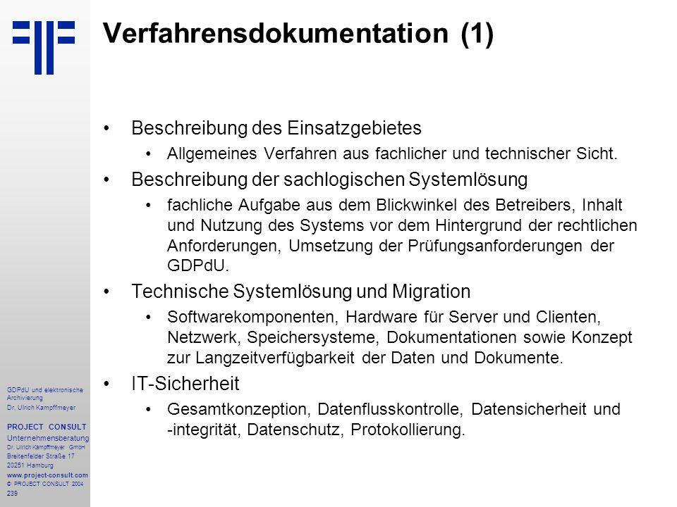 Verfahrensdokumentation (1)
