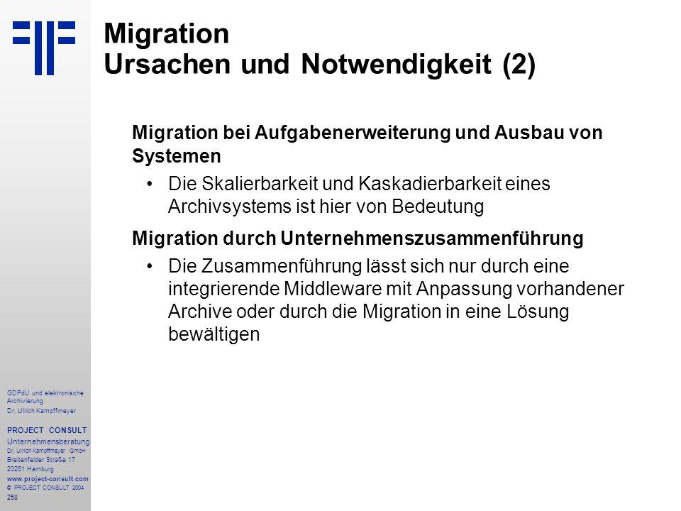 Migration Ursachen und Notwendigkeit (2)
