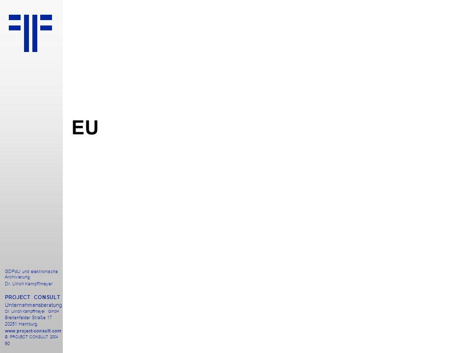 EU PROJECT CONSULT Unternehmensberatung