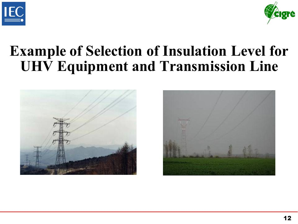 Example of Selection of Insulation Level for UHV Equipment and Transmission Line