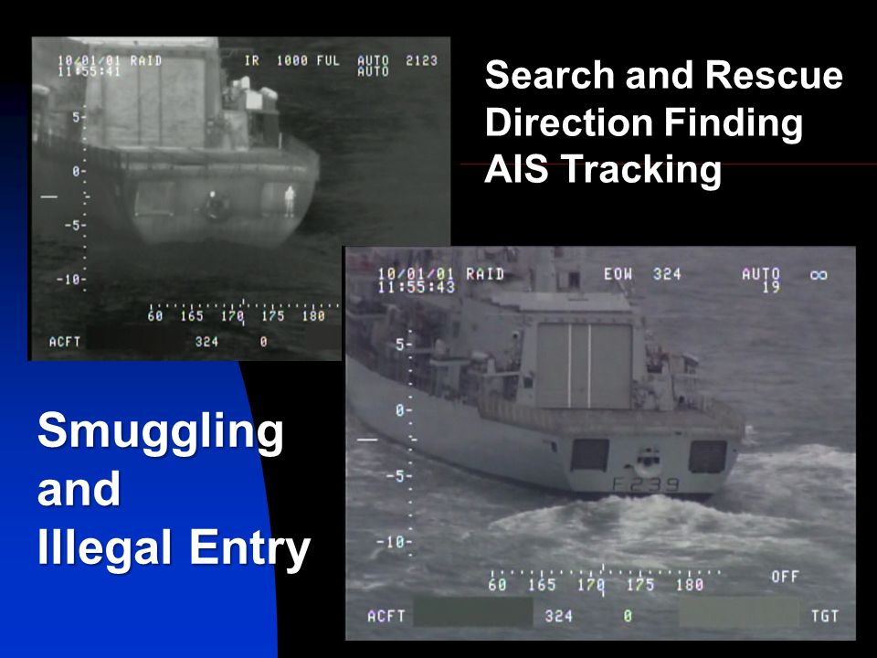 Smuggling and Illegal Entry Search and Rescue Direction Finding