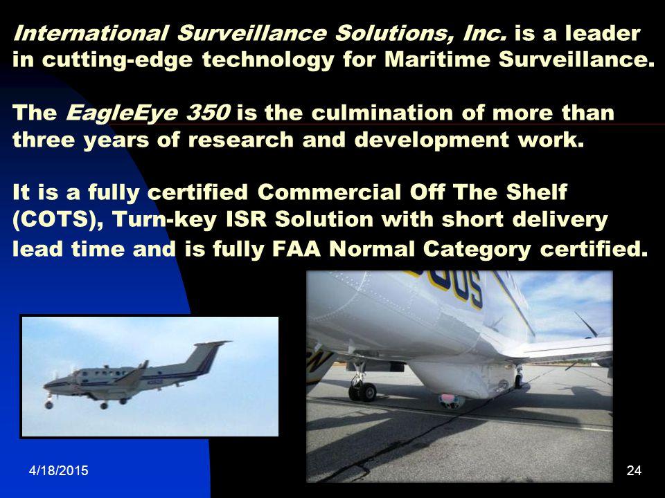International Surveillance Solutions, Inc