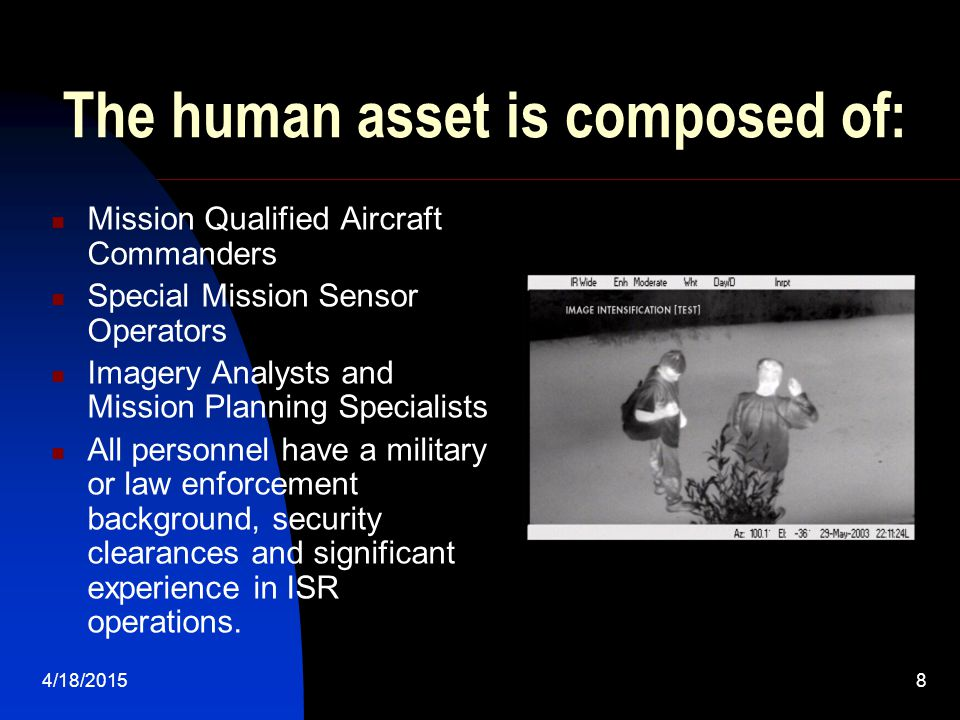 The human asset is composed of:
