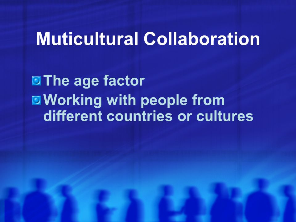 Muticultural Collaboration