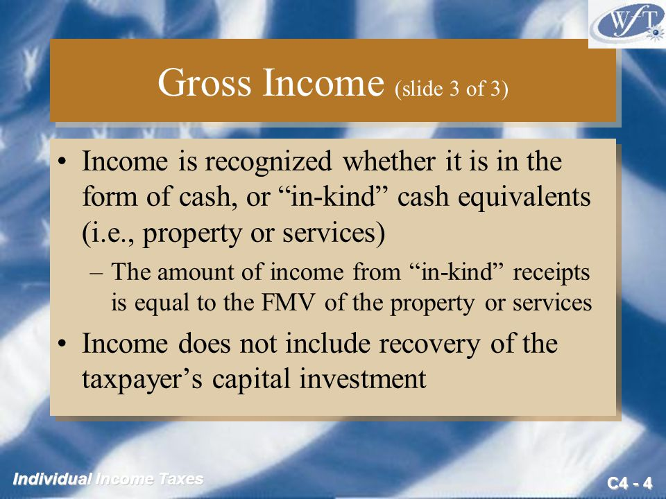Gross Income (slide 3 of 3)