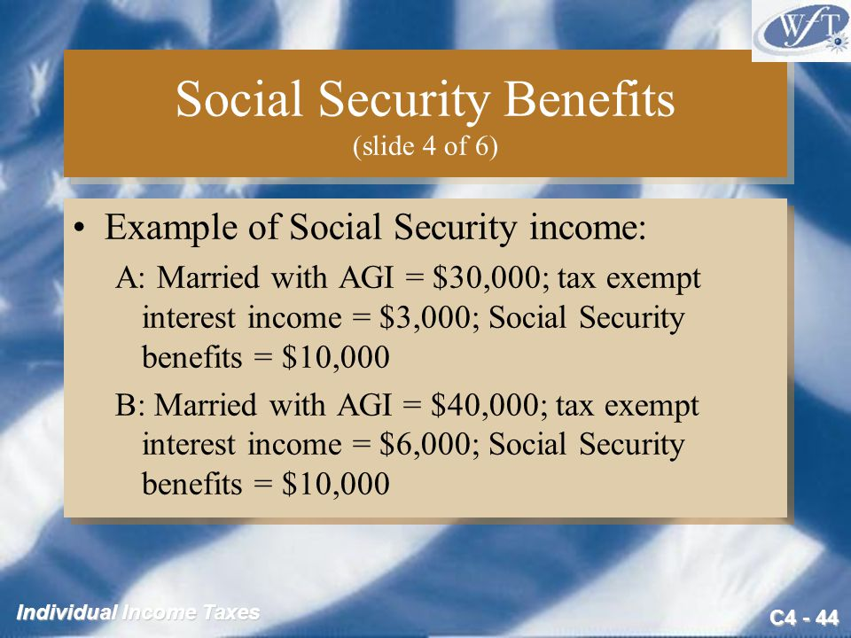 Social Security Benefits (slide 4 of 6)