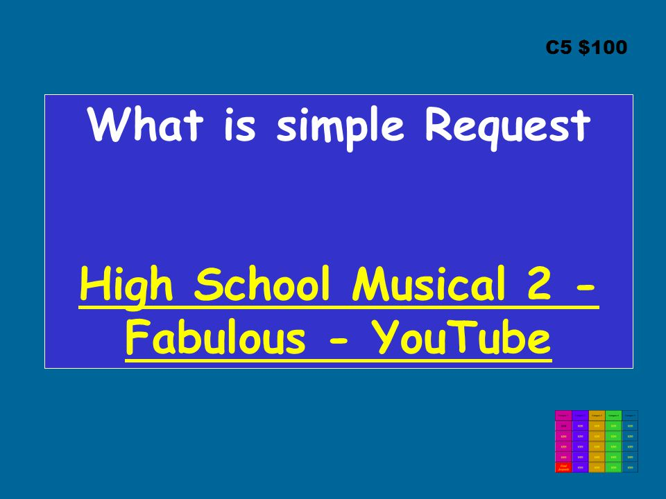 High School Musical 2 - Fabulous - YouTube