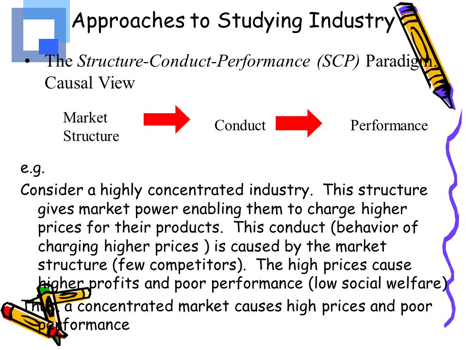 Approaches to Studying Industry