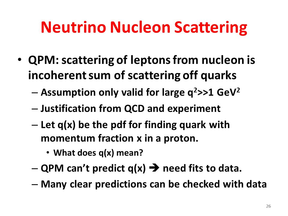 Neutrino Nucleon Scattering
