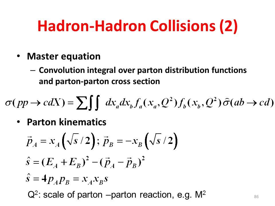 Hadron-Hadron Collisions (2)