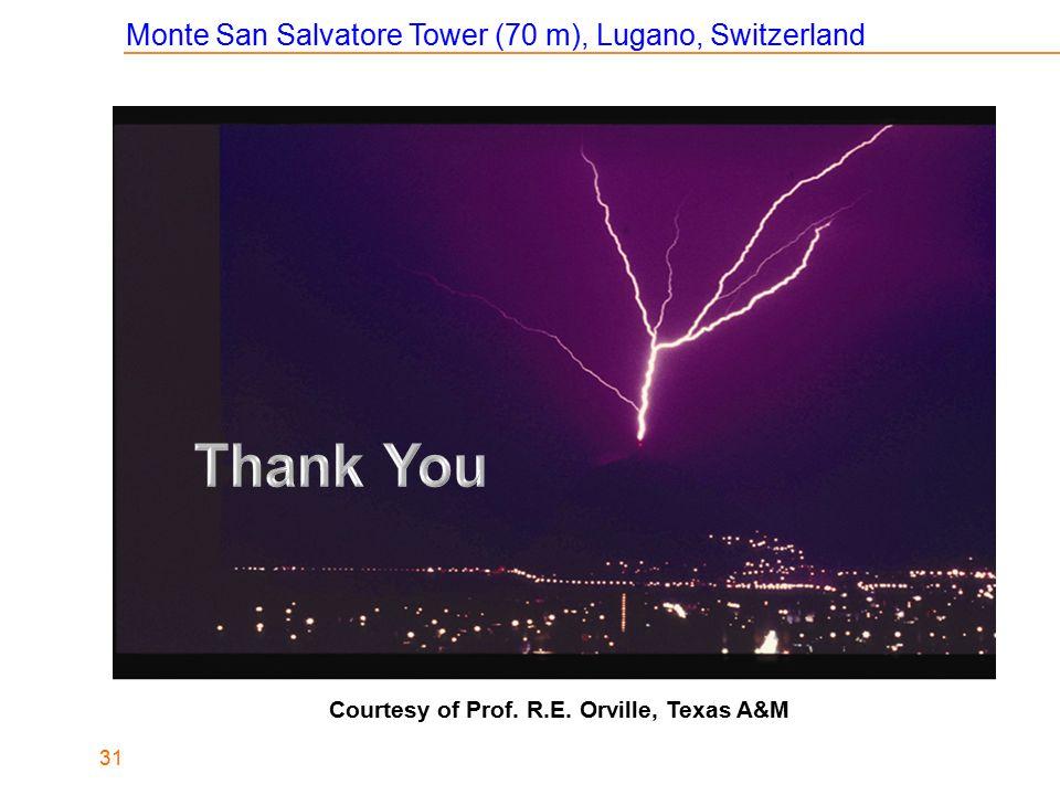 Thank You Monte San Salvatore Tower (70 m), Lugano, Switzerland