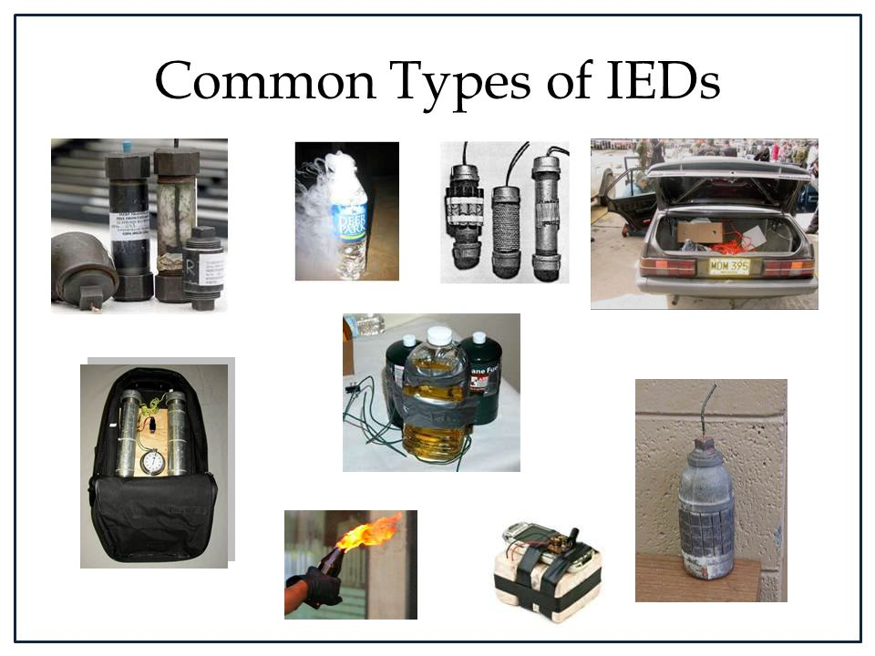 Common Types of IEDs