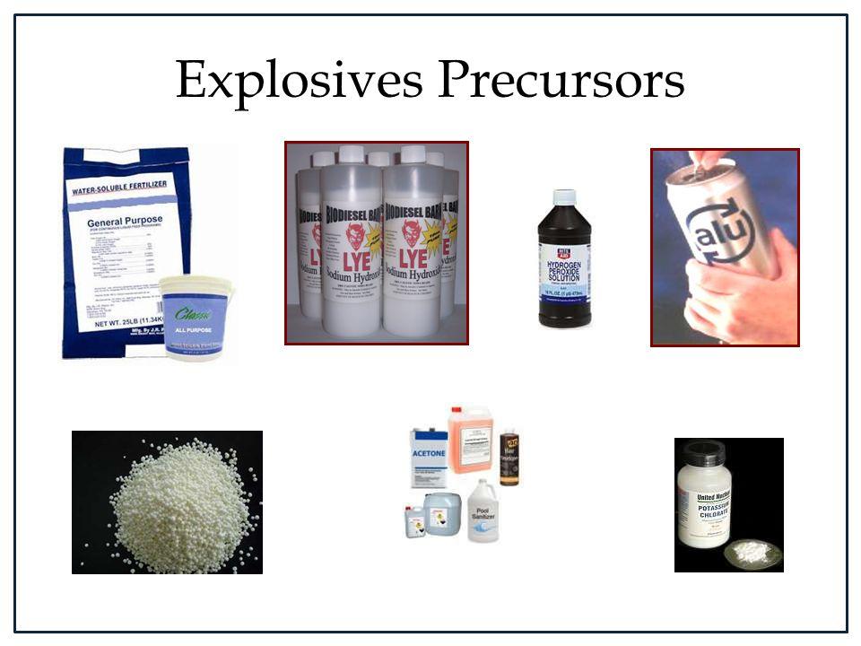Explosives Precursors