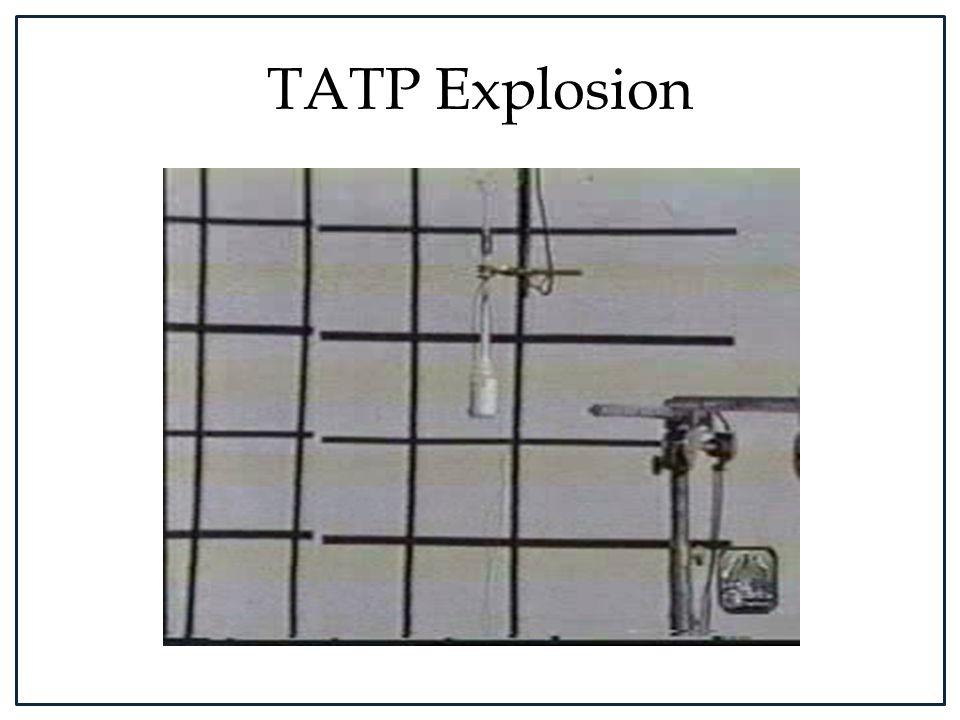 TATP Explosion