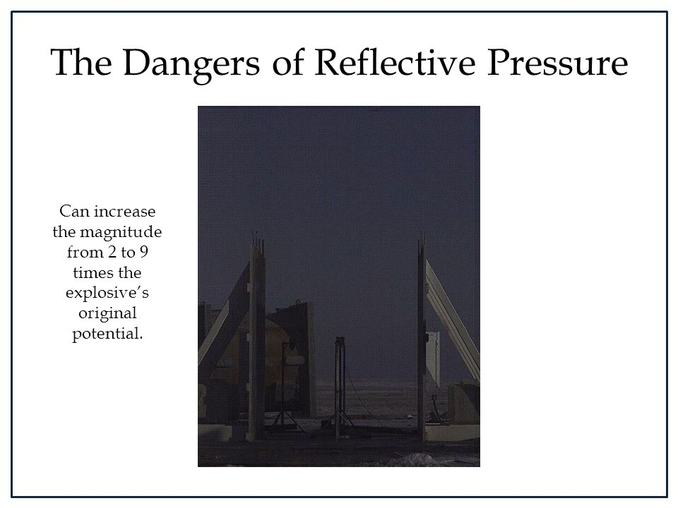 The Dangers of Reflective Pressure
