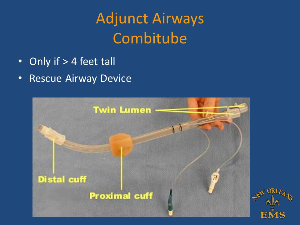 Adjunct Airways Combitube