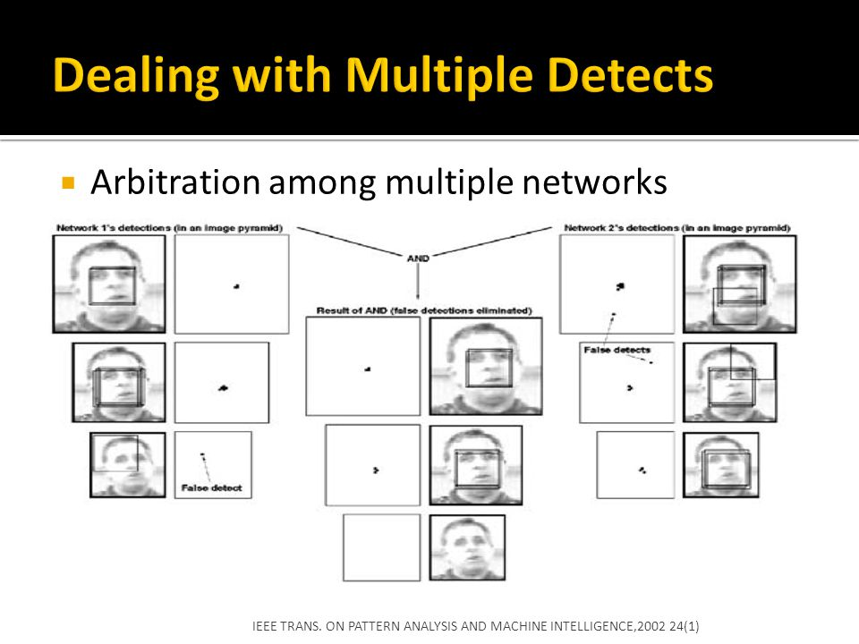 Dealing with Multiple Detects