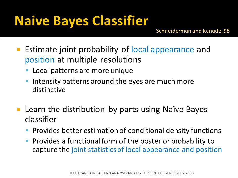 naive bayes Facebooktwitterlinkedincommonly used in machine learning, naive bayes is a collection of classification algorithms based on bayes theorem it is not a single algorithm but a family of algorithms that all share a common principle, that every feature being classified is independent of the value of any other feature.