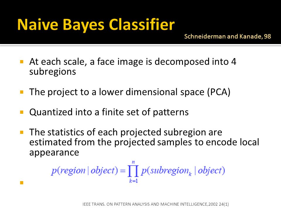 Naive Bayes Classifier
