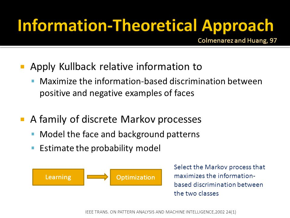 Information-Theoretical Approach