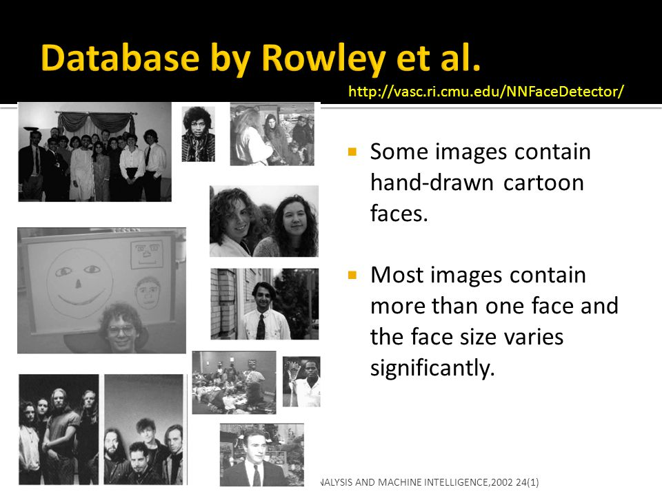 Database by Rowley et al.