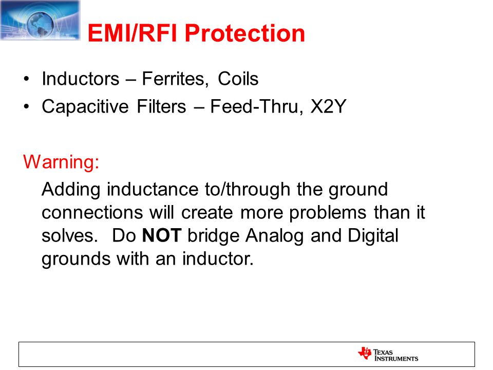 EMI/RFI Protection Inductors – Ferrites, Coils
