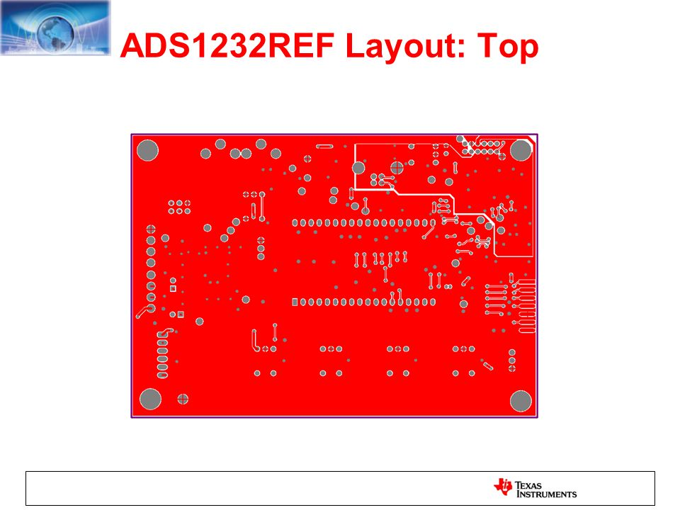 ADS1232REF Layout: Top