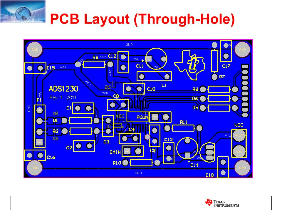 PCB Layout (Through-Hole)