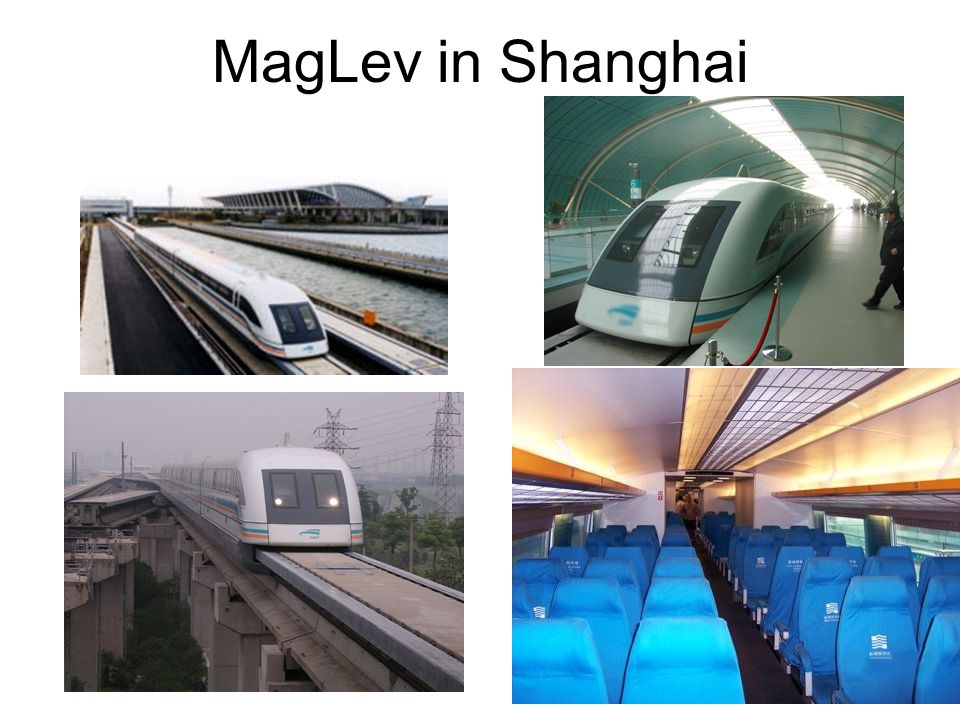 MagLev in Shanghai