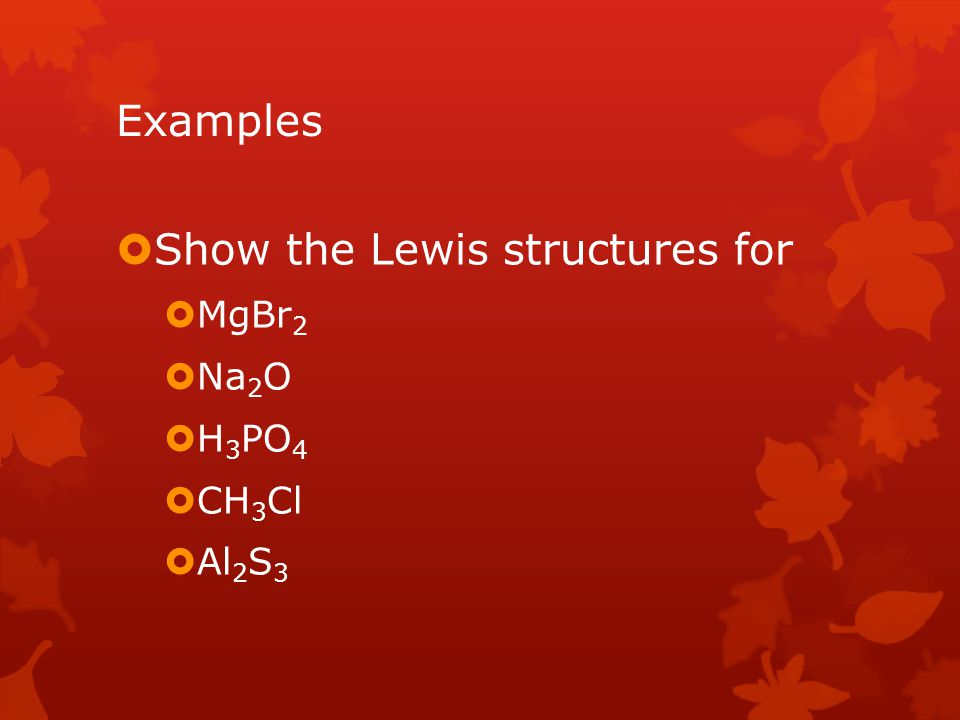 Show the Lewis structures for