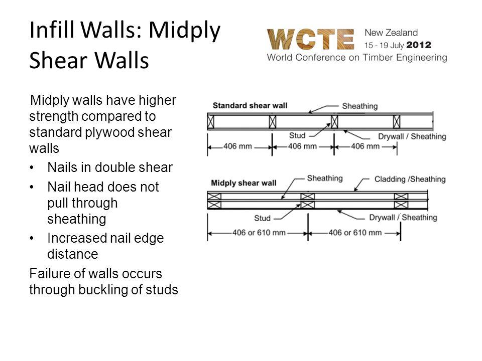Infill Walls: Midply Shear Walls