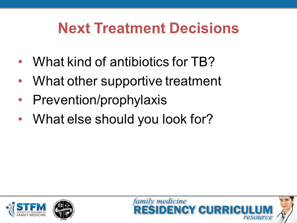 Next Treatment Decisions