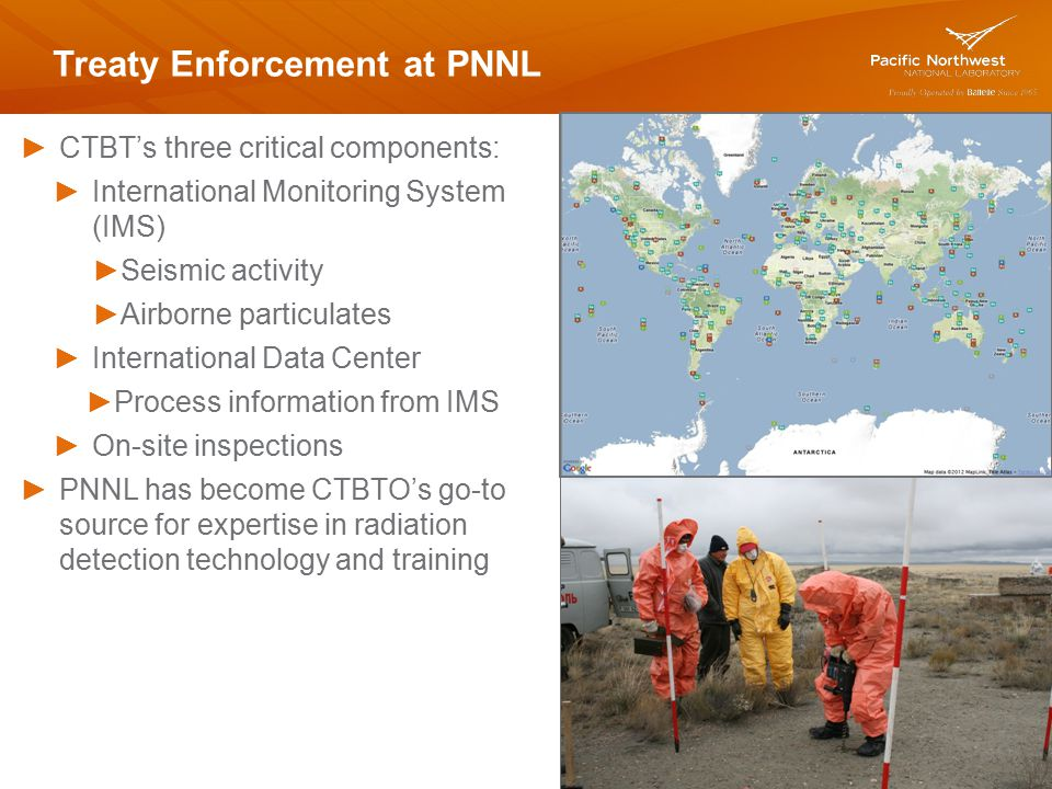 Treaty Enforcement at PNNL