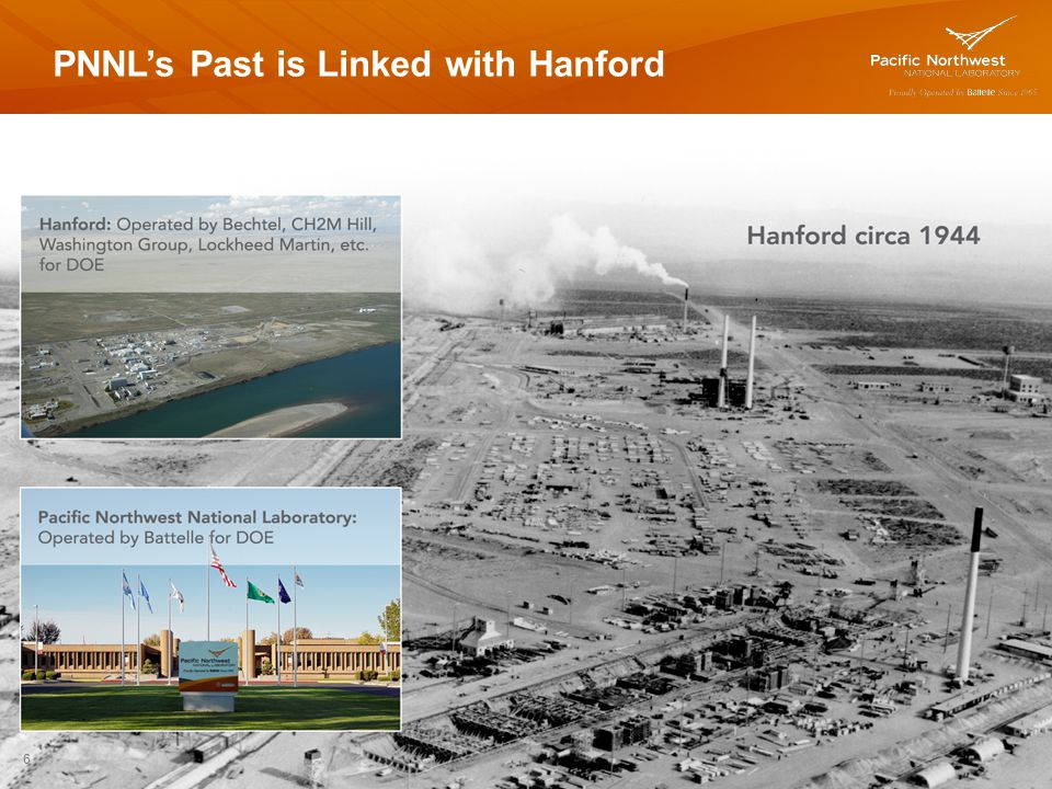 PNNL's Past is Linked with Hanford