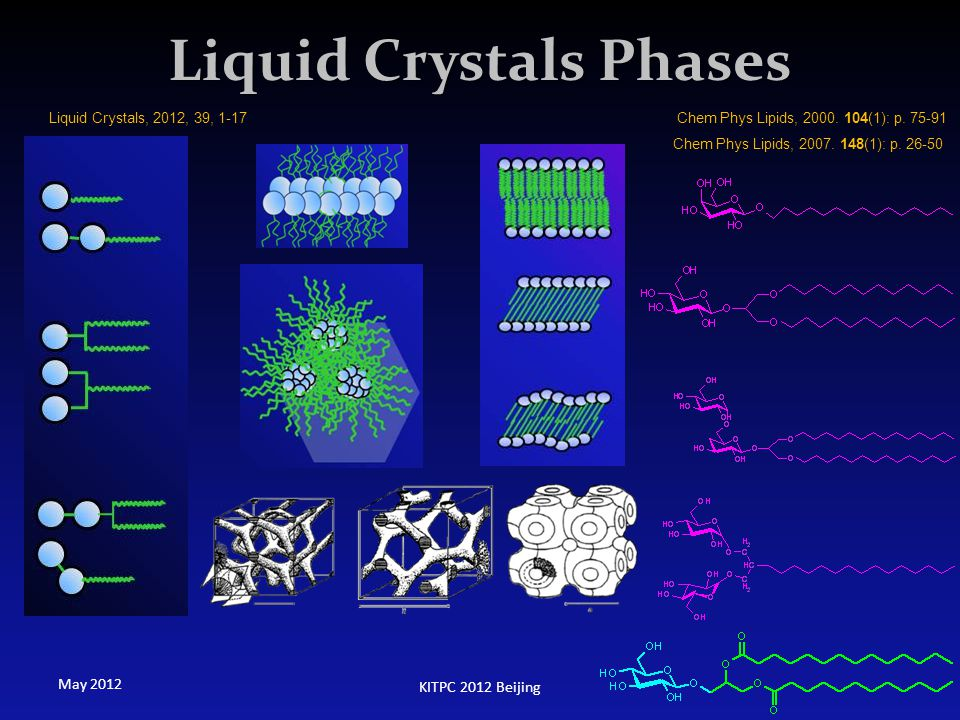 Liquid Crystals Phases
