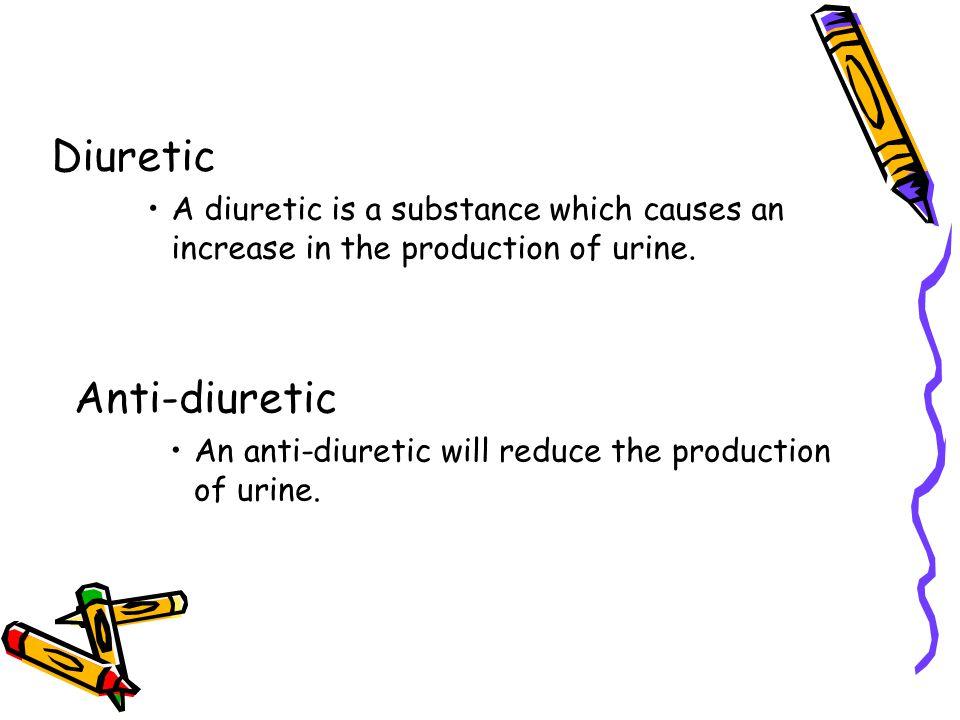 Diuretic Anti-diuretic