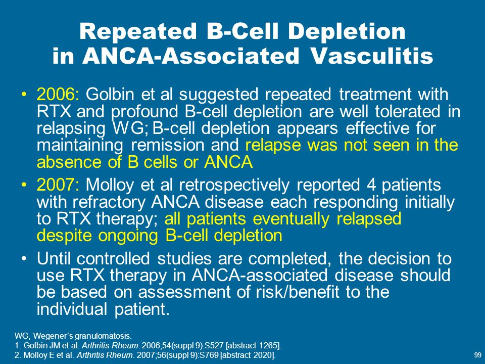 Repeated B-Cell Depletion in ANCA-Associated Vasculitis