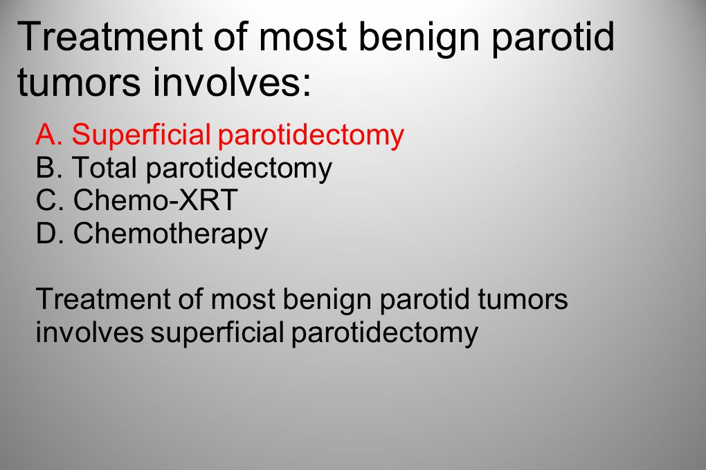 Treatment of most benign parotid tumors involves: