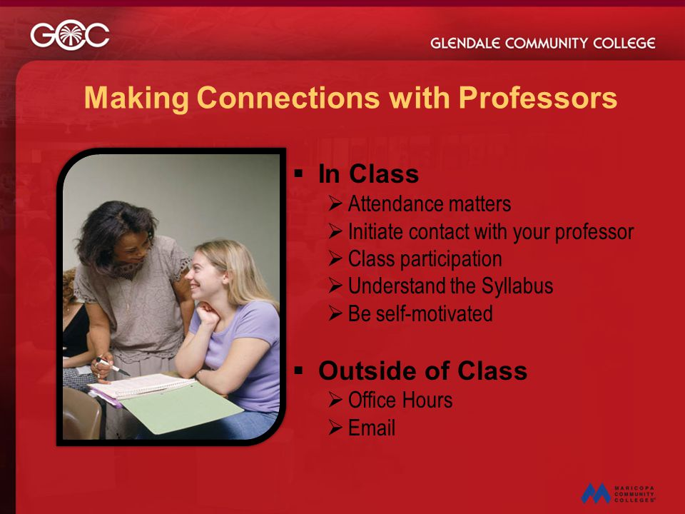 Making Connections with Professors