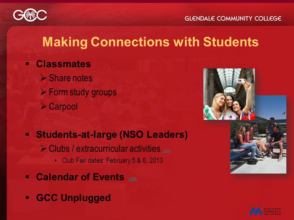 Making Connections with Students