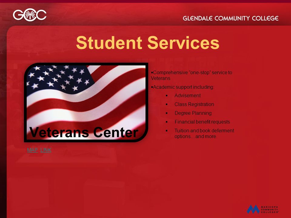 Student Services Veterans Center