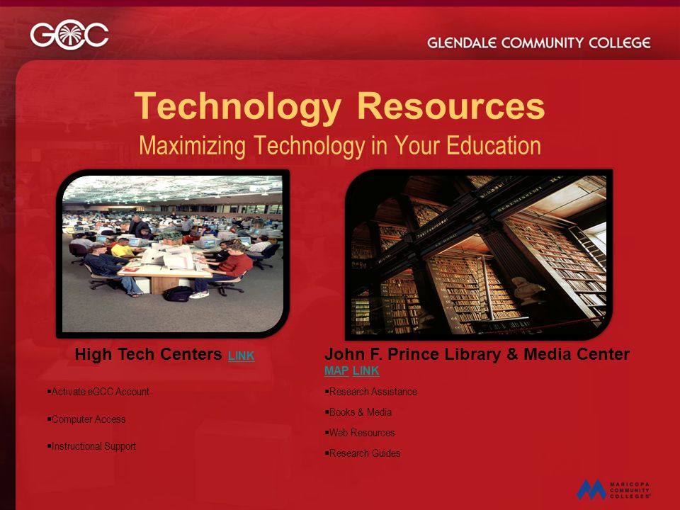 Technology Resources Maximizing Technology in Your Education