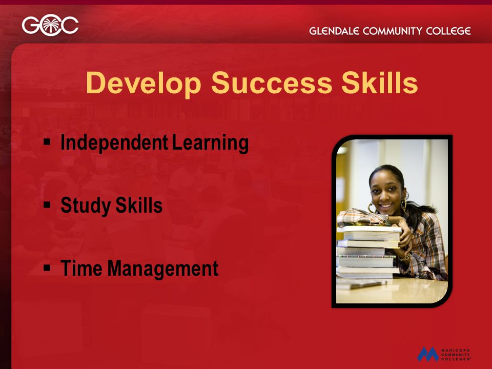 Develop Success Skills