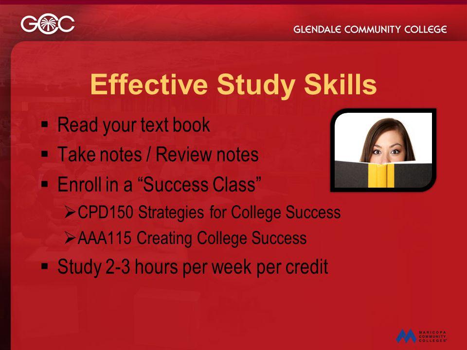 Effective Study Skills