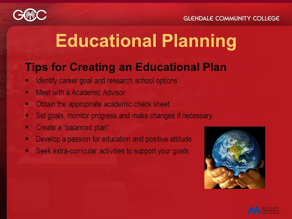 Educational Planning Tips for Creating an Educational Plan