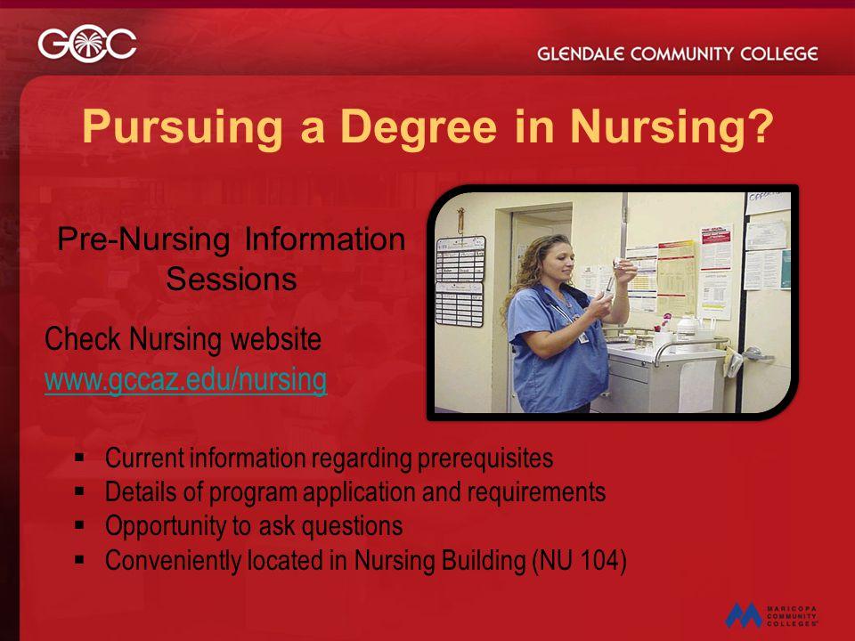 Pursuing a Degree in Nursing