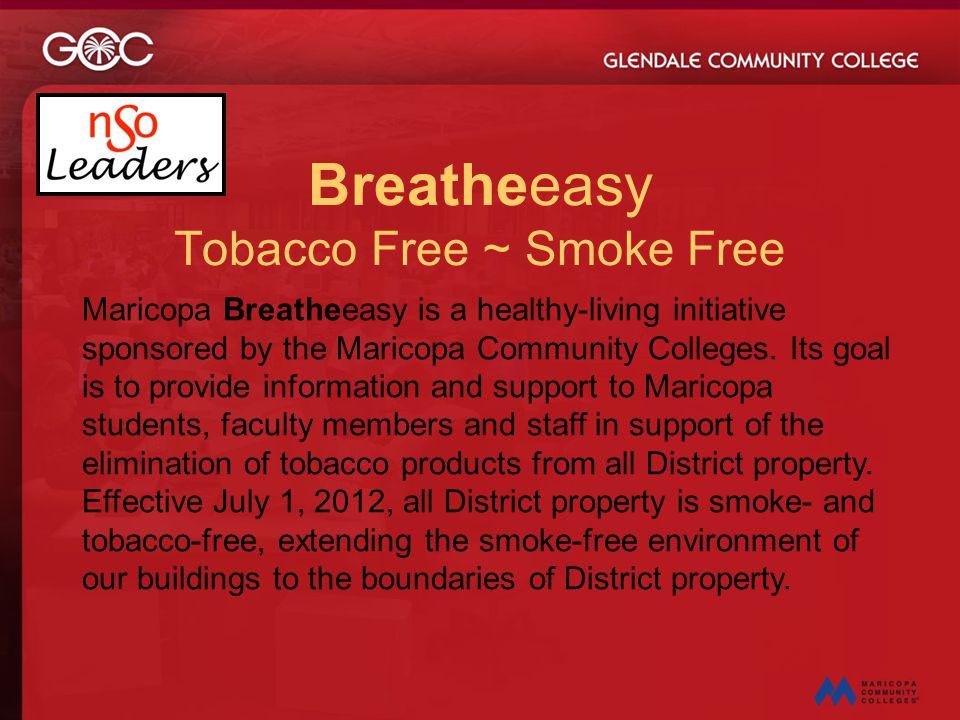 Breatheeasy Tobacco Free ~ Smoke Free