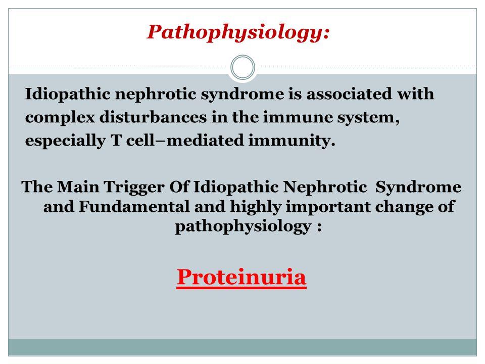 Proteinuria Pathophysiology: