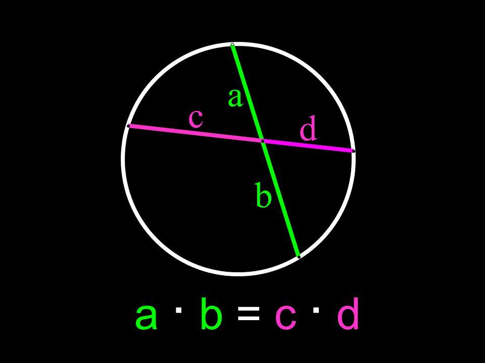 a c d b a · b = c · d